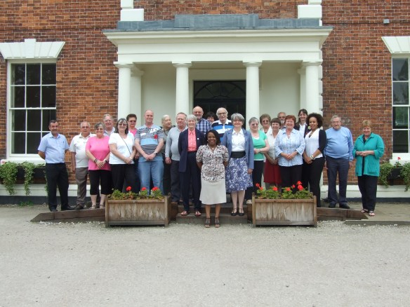 Group photo of the crime fighter training group I was attending in June 2009.